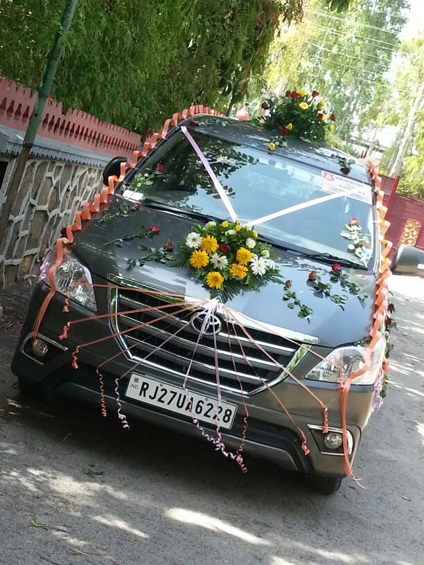 Wedding car decoration junglespirit Image collections