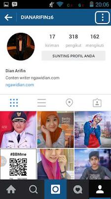 Membersihkan Riwayat Pencarian Instagram