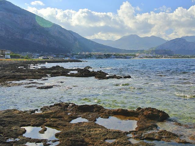 zatoczki, Sycylia, plaża, okolice Palermo
