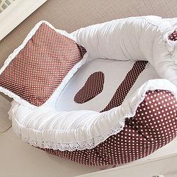 Выкройка гнездо для младенца 4