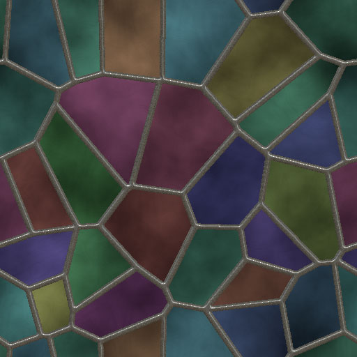 Stained Glass Pattern 1