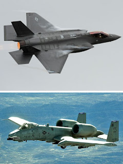 U.S. Airforce Now Conducting Tests In Comparing The A-10 And F-35 When It Comes To Providing Close Air Support