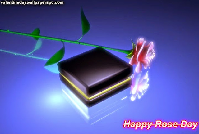 Happy Rose Day Romantic Wallpaper