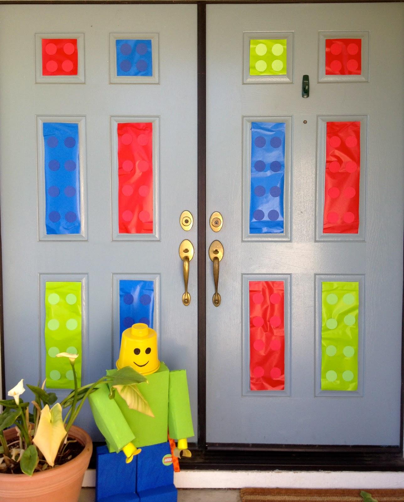 Lego Door Decoration