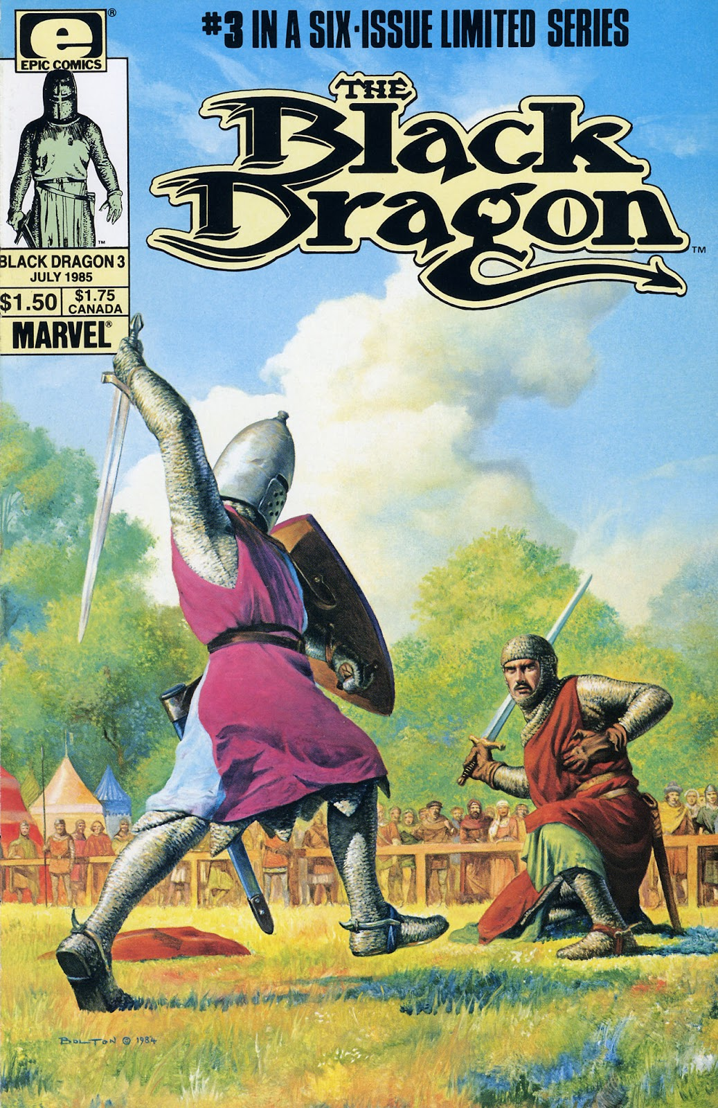 The Black Dragon (1985) 3 Page 1