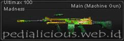 Senjata Point Blank Ultimax 100 Madness