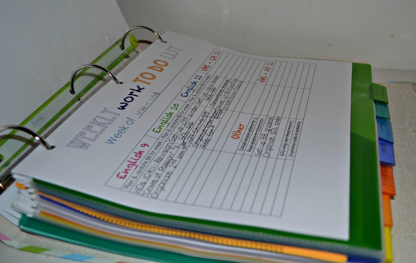 Organized Binder Related Keywords - Organized Binder Long ...