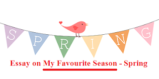 Essay on my favourite season spring