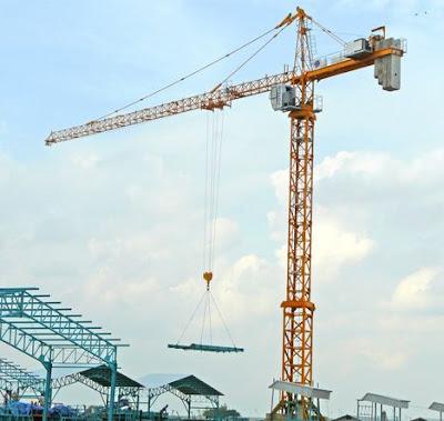 Hati-Hati Saat Menggunakan Tower Crane