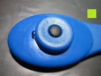 Griff: Health Enterprises - Läusekamm mit integriertem Licht, Vergrößerungslupe und auswechselbaren Metallzinken - Ideal zur Bekämpfung von Läusen, Nissen, Flöhen und Kopfläusen