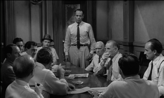 an analysis of the movie 12 angry men The characters in reginald rose's drama '12 angry men' are unnamed but  in  1957, the famous film adaptation starring henry fonda was.