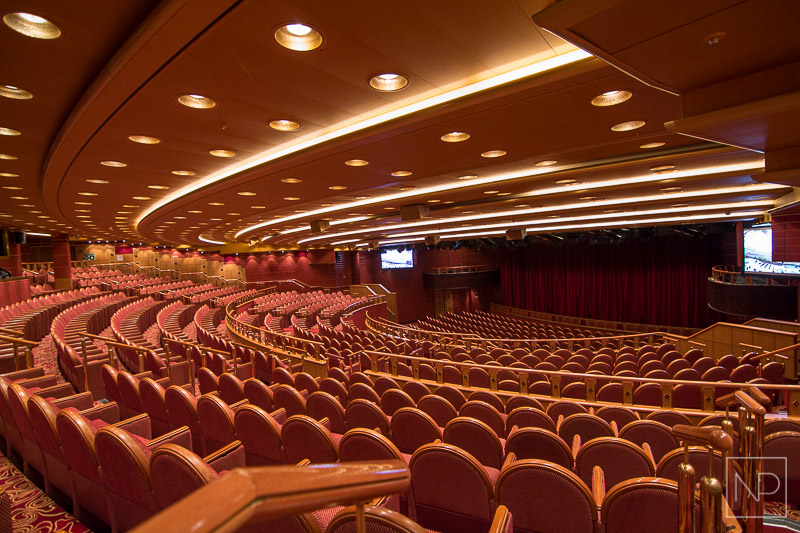 Princess Theatre, Emerald Princess theatre shows