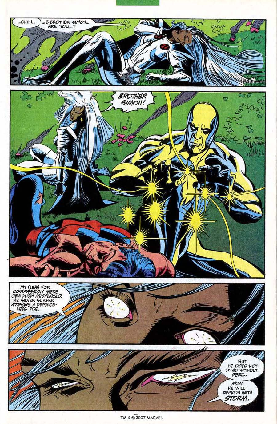 Read online Silver Surfer (1987) comic -  Issue #85 - 25