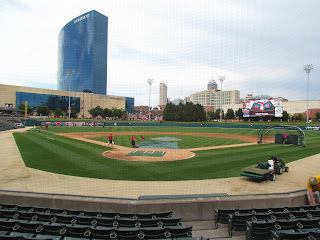 Home to center at Victory Field