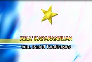 Lirik Lagu Toraja Misa' Kaparannuan (Daniel Tandirogang)