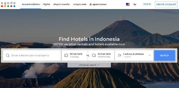 Website Travel Untuk Pesan Tiket Terpercaya - Agoda
