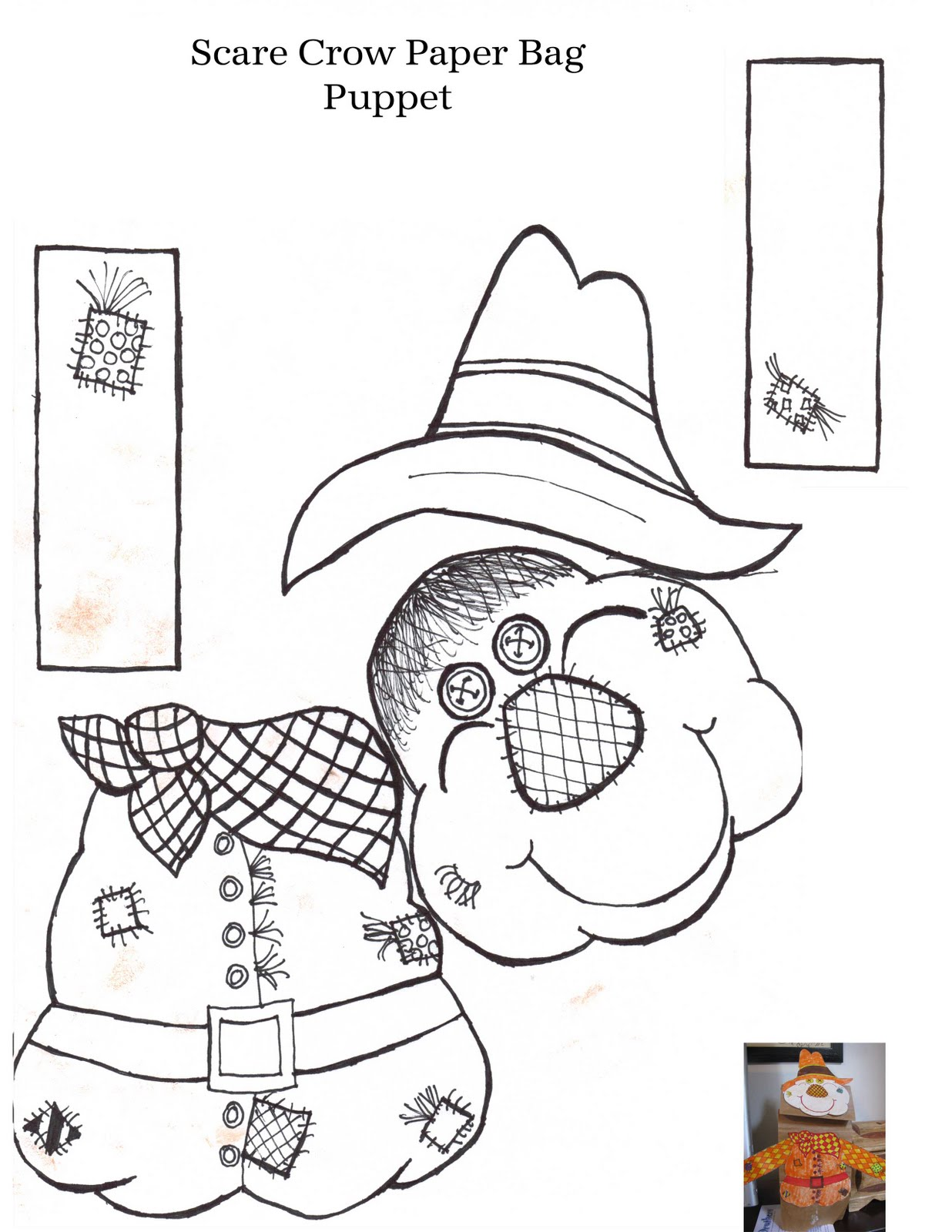 Scarecrow Pattern