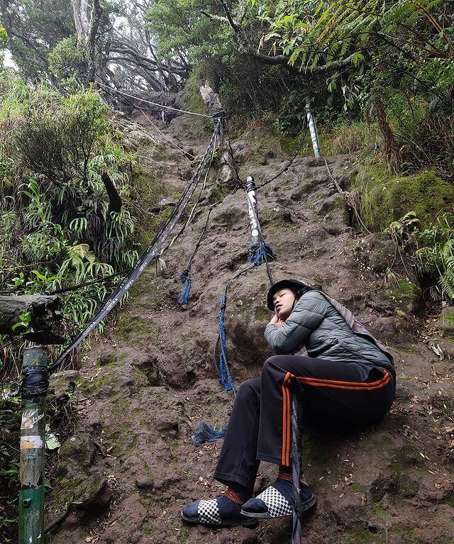 cara aklimatisasi instan pendaki gunung - foto instagram aldyzuuldiandi