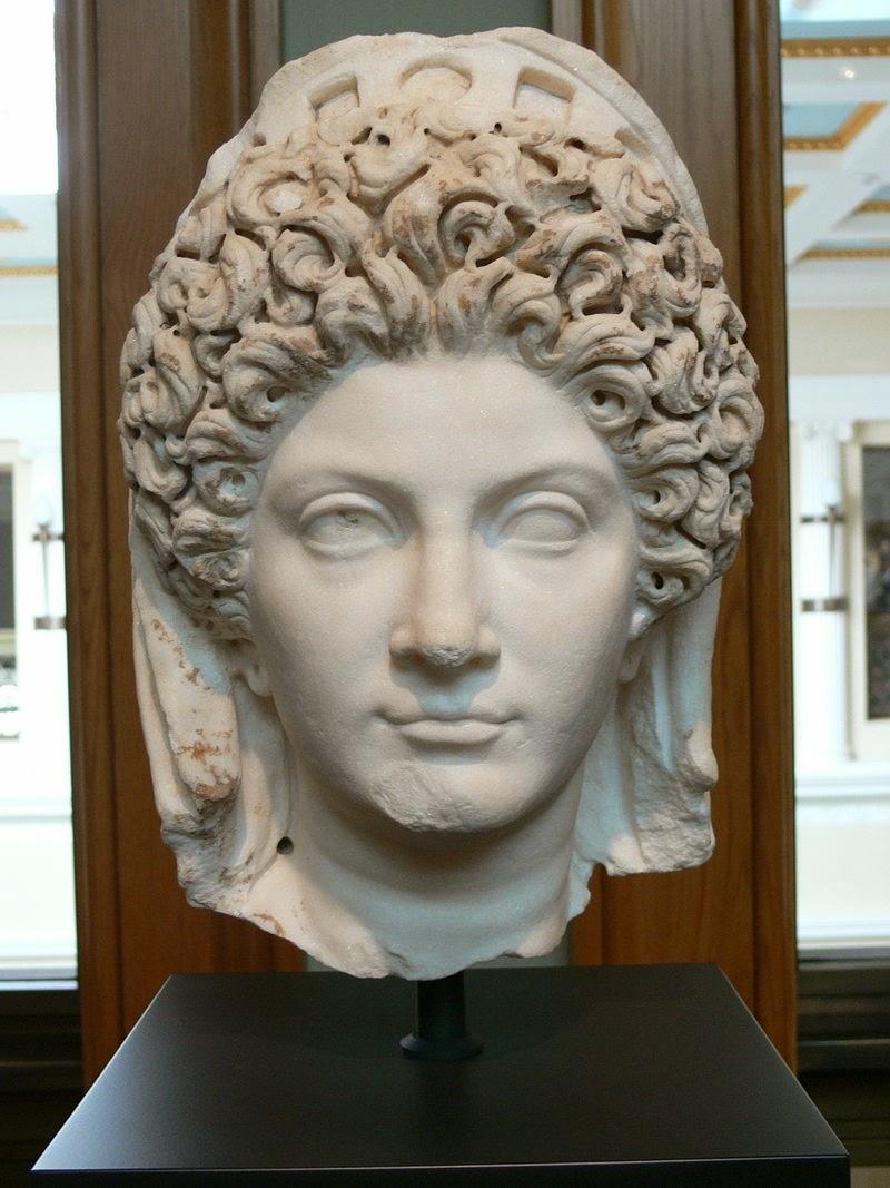 Las mejores variaciones de peinados de romana Imagen de cortes de pelo tutoriales - ¿Cómo vivían los romanos?: El peinado de las mujeres romanas