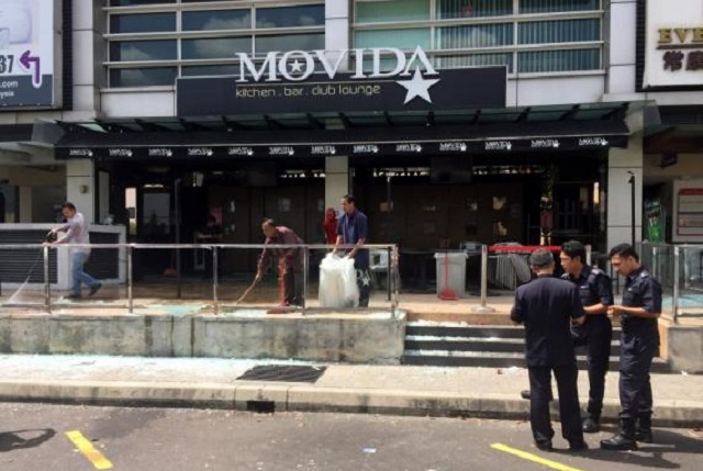 Polis Sahkan Letupan Pusat Hiburan Di Puchong Guna Bom Tangan