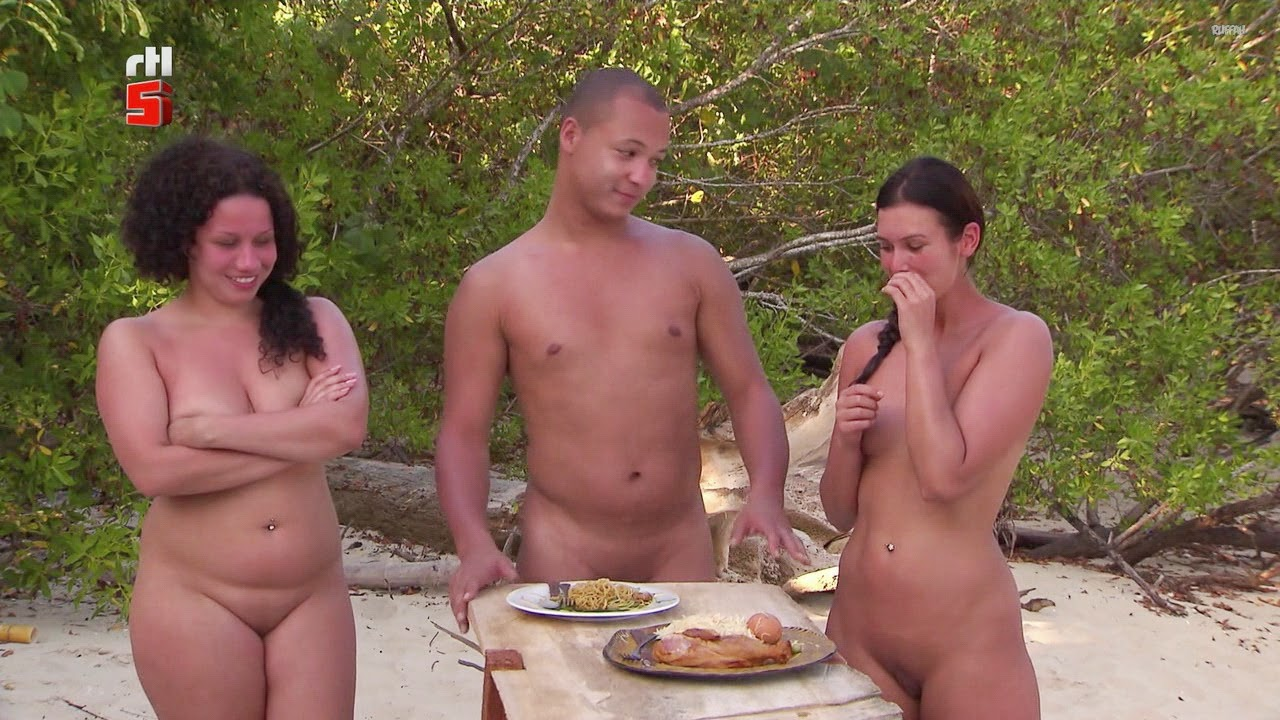 Nudism - Photo - HQ : Adam sucht Eva - naked TV-show on the beach