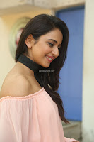 Rakul Preet Singh in lovely Pink Crop Top and Black Trousers at Jaya Janaki Nayaka success meet 017.JPG