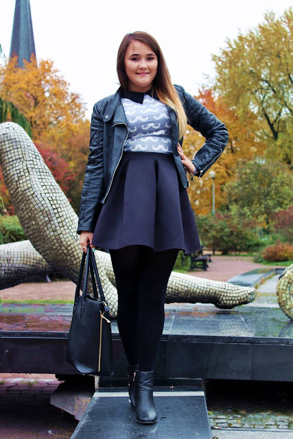 ** Jesienny spacer - strój dnia / Autumn walk - Outfit of the day **