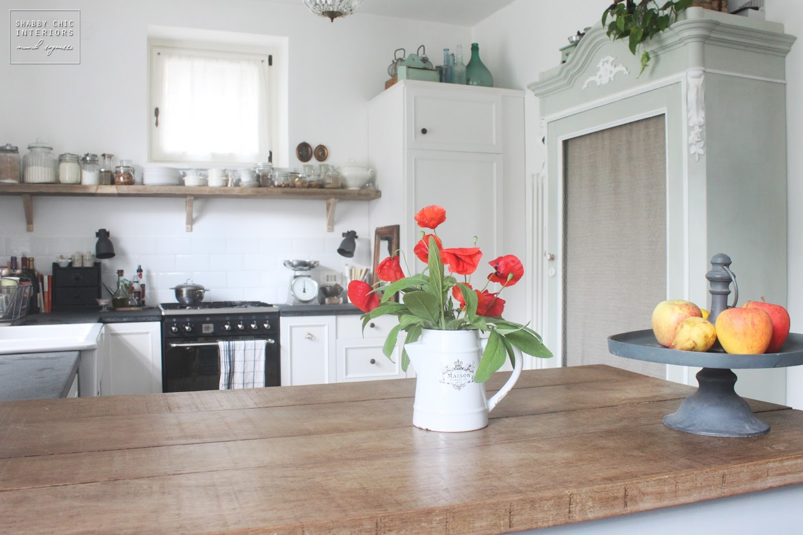 Cucina stile shabby chic la mia casa provenzale casa di campagna