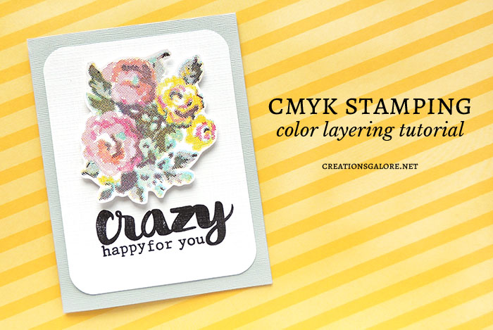 How to use CMYK Stamps & Inks