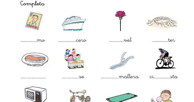 Dibujos Con La Trabada Br: Cositas De AL Y PT: Trabadas Cr-cl