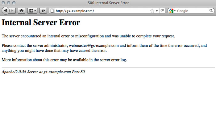 internal server error .htaccess