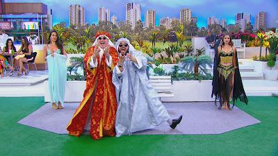 René e Ênio como Kafed e Sami (Divulgação/SBT)