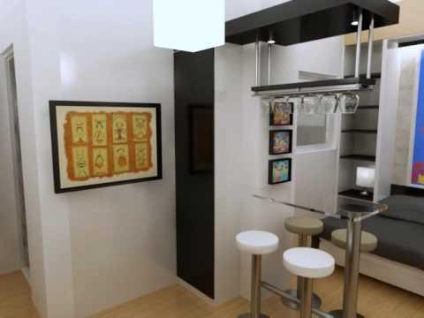 Decoraci n de casa u oficina decoracion de mini departamento for Decoracion para minidepartamentos