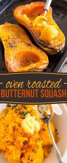 OVEN ROASTED BUTTERNUT SQUASH #oven #roasted #butternut #squash #delicious #deliciousrecipes #tasty #tastyrecipes