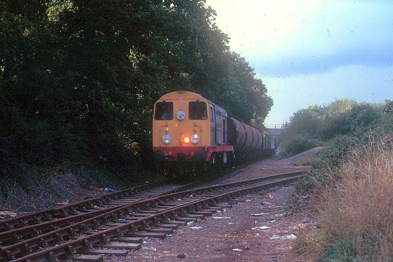 The last weedkiller train on the Gosport Line