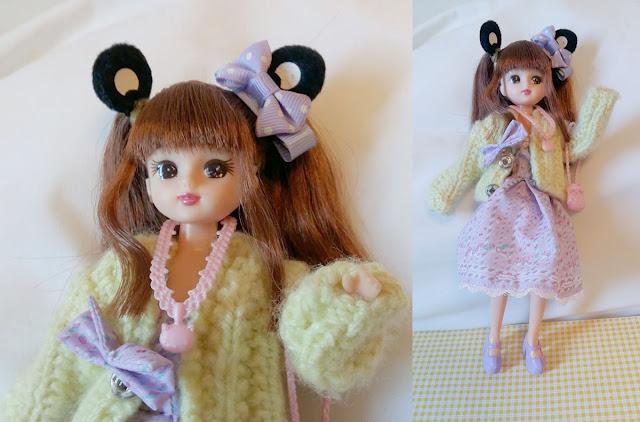 Boneca Licca-chan customizada