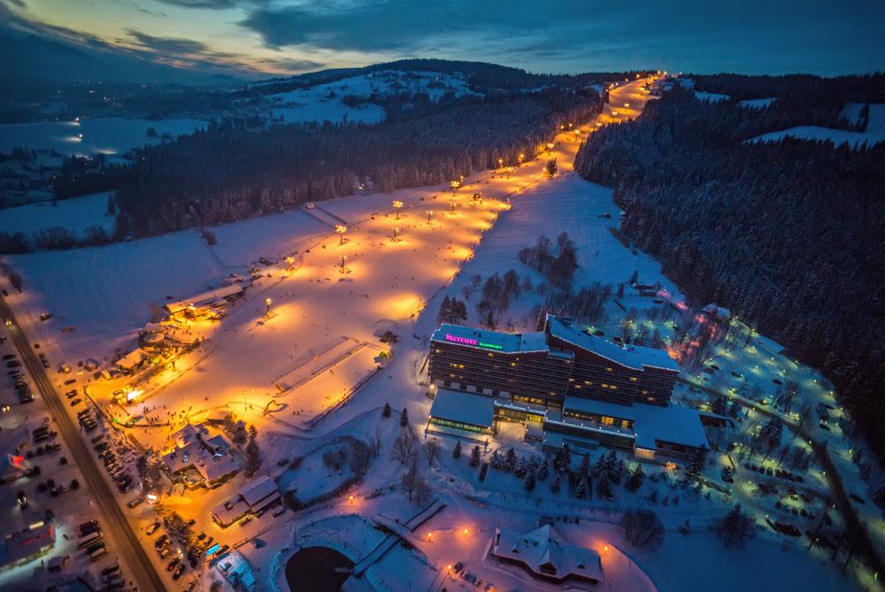 wyciąg narciarski polana szymoszkowa