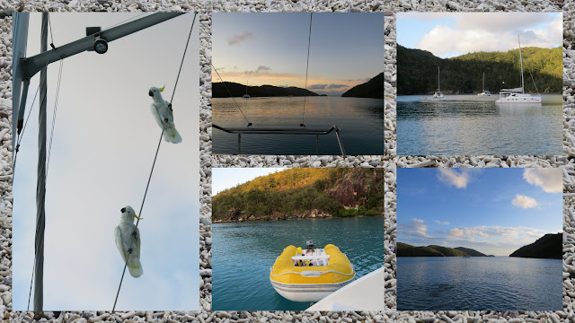 Sailing in the Whitsundays - Nara Inlet