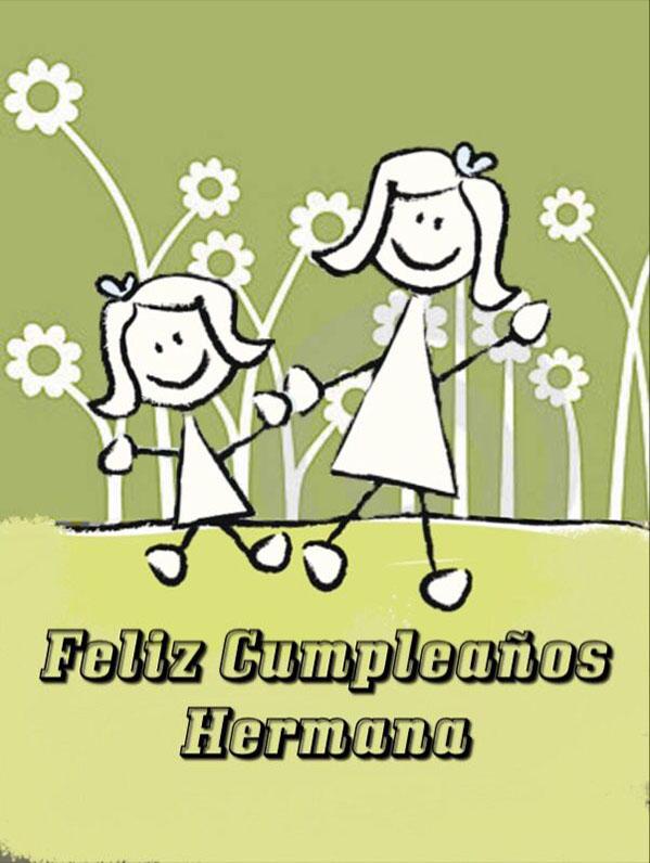 Feliz Cumpleanos Hermana ツ Tarjetas De Feliz Cumpleanos ツ
