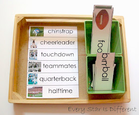 Football Compound Word Activity