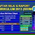 Download Aplikasi Raport Kurikulum 2013 Terbaru Versi 2017/2018