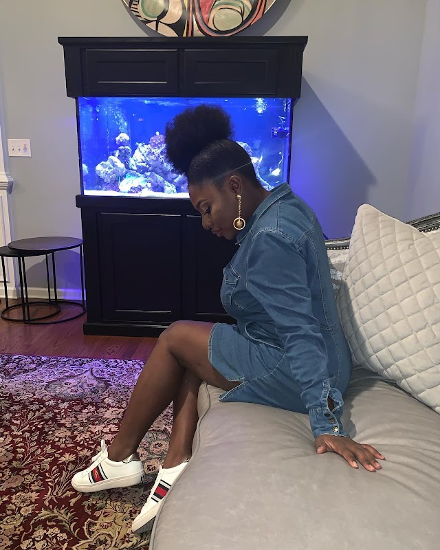 YVONNE JEGEDE LOOKING GOOD AFTER PREGNANCY