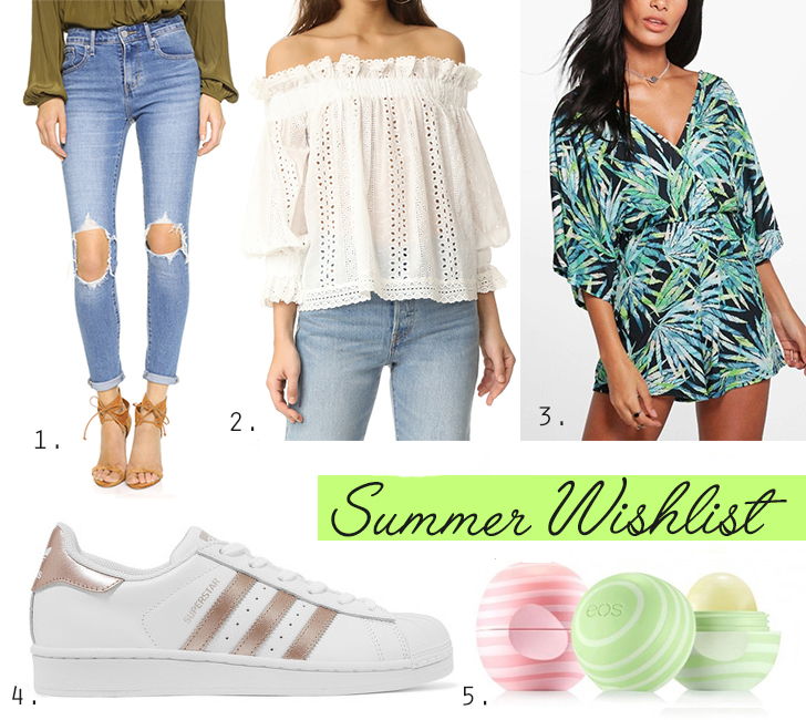 Summer wishlist 2017