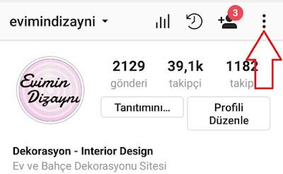 instagram canlı yayın bildirim kapatmak