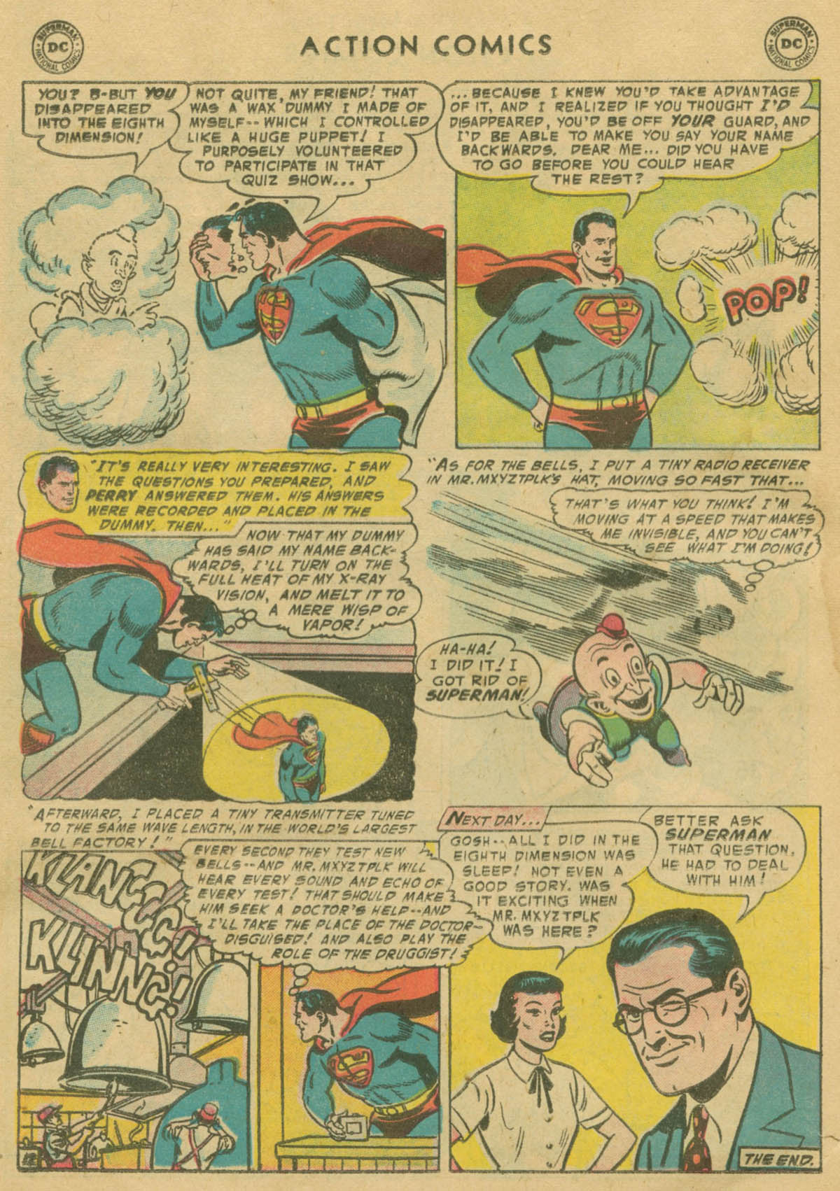 Read online Action Comics (1938) comic -  Issue #208 - 13