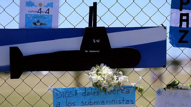 """La desaparición del ARA San Juan: """"No habrá salvamento de personas. Se seguirá con la búsqueda"""""""