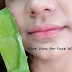 Cara Memutihkan Wajah Dengan Lidah Buaya Yang Benar Dan Efektif