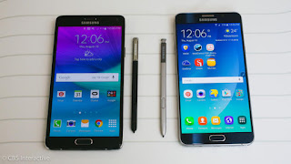 Harga dan Spesifikasi Samsung galaxy note 5 Update April  2016