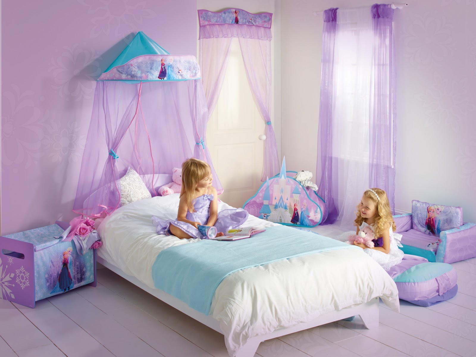 57 Desain Kamar Tidur Tema Frozen | Rumah Minimalis Sobat