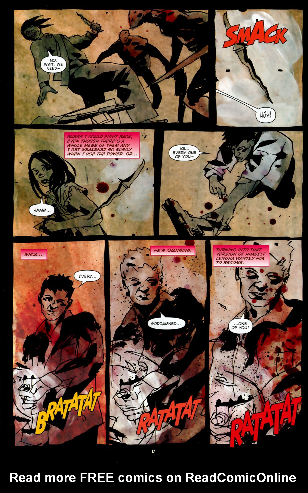 Read online Silent Hill: Dead/Alive comic -  Issue #3 - 19